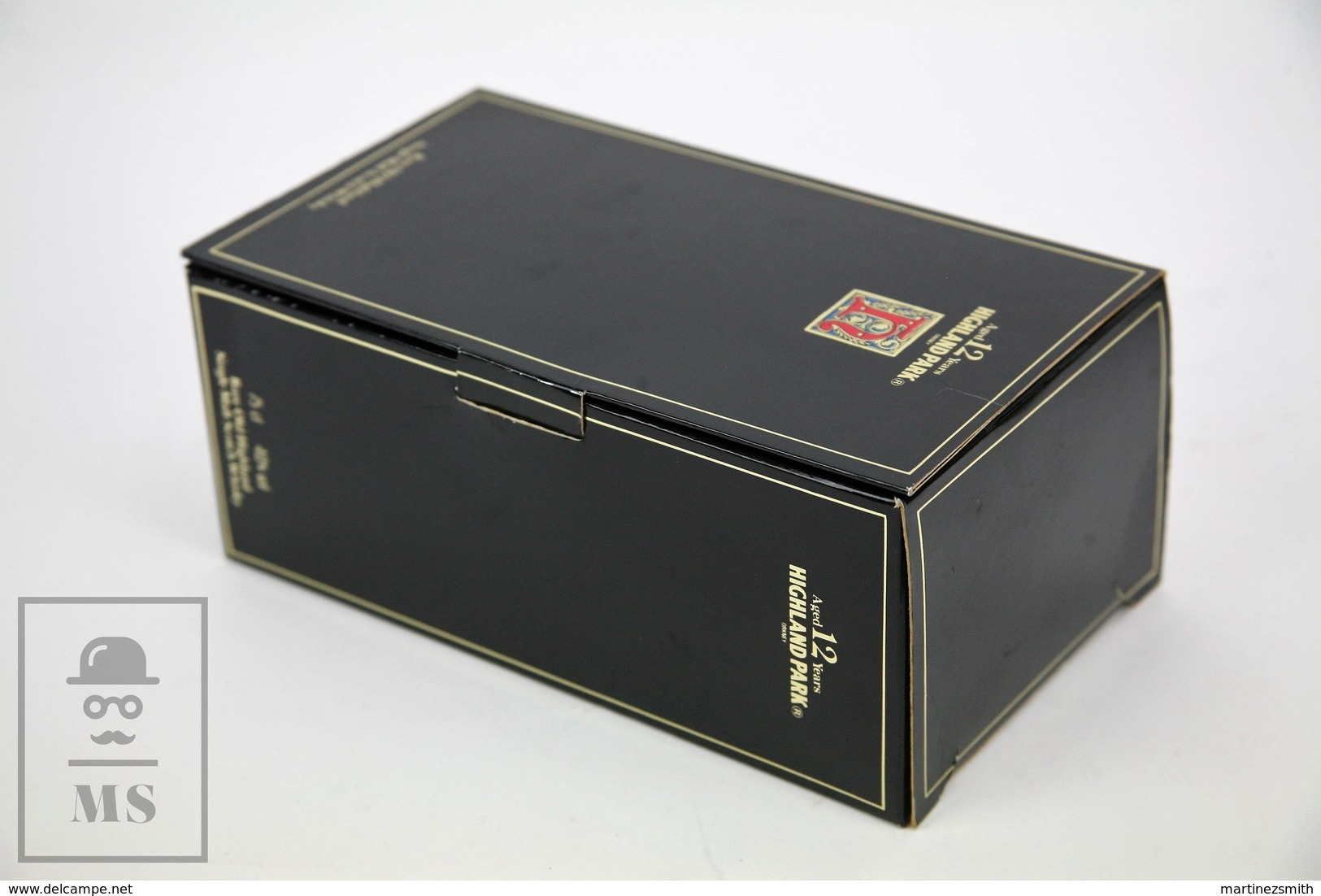 Empty Highland Park Aged 12 Years Single Malt Scotch Whisky Presentation Box - Otras Colecciones
