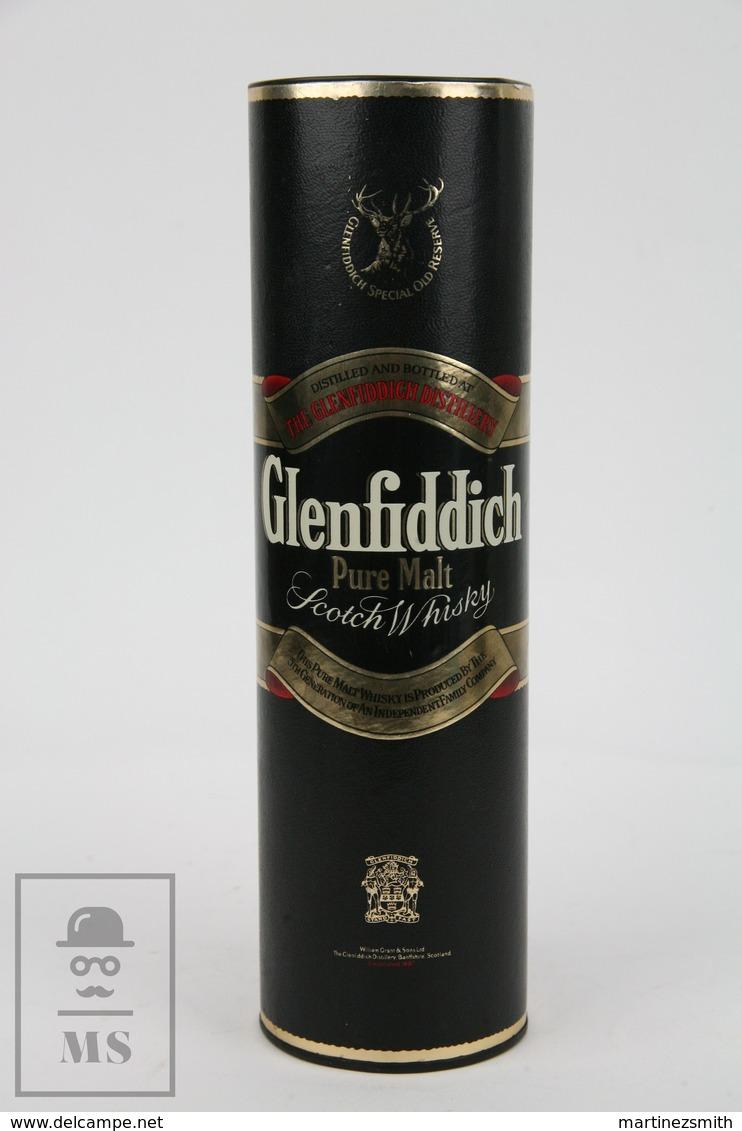 Empty Glenfiddich Pure Malt Scotch Whisky Special Old Reserve Presentation Box - Otras Colecciones