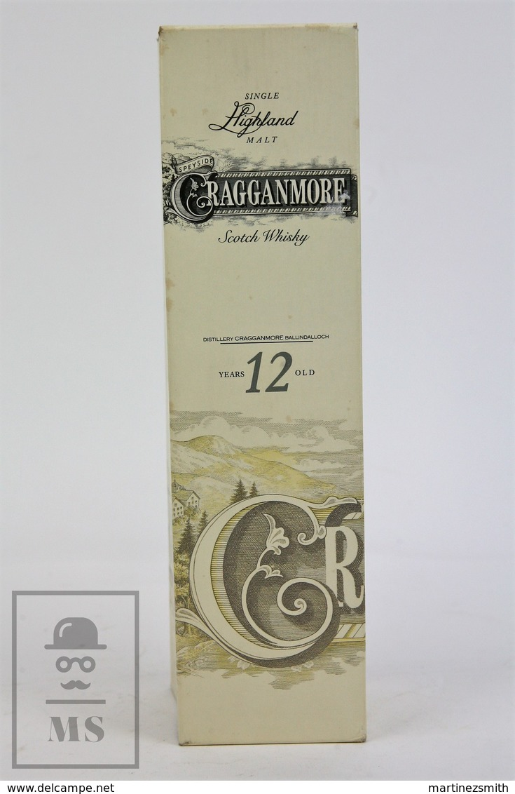 Empty Cragganmore Highland Malt Scotch Whisky 12 Years Old Presentation Box - Otras Colecciones