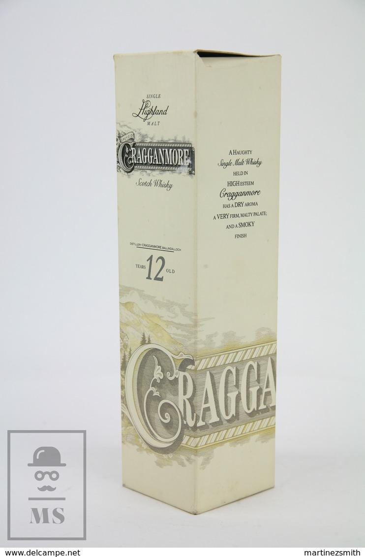 Empty Cragganmore Highland Malt Scotch Whisky 12 Years Old Presentation Box - Otros