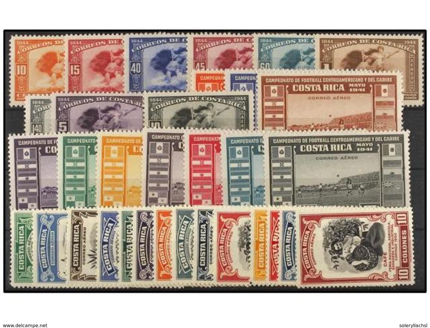 418 * COSTA RICA. Yv.A 54/62, 82/90, 196/209. SERIES Completas. MUY BONITAS. - Stamps