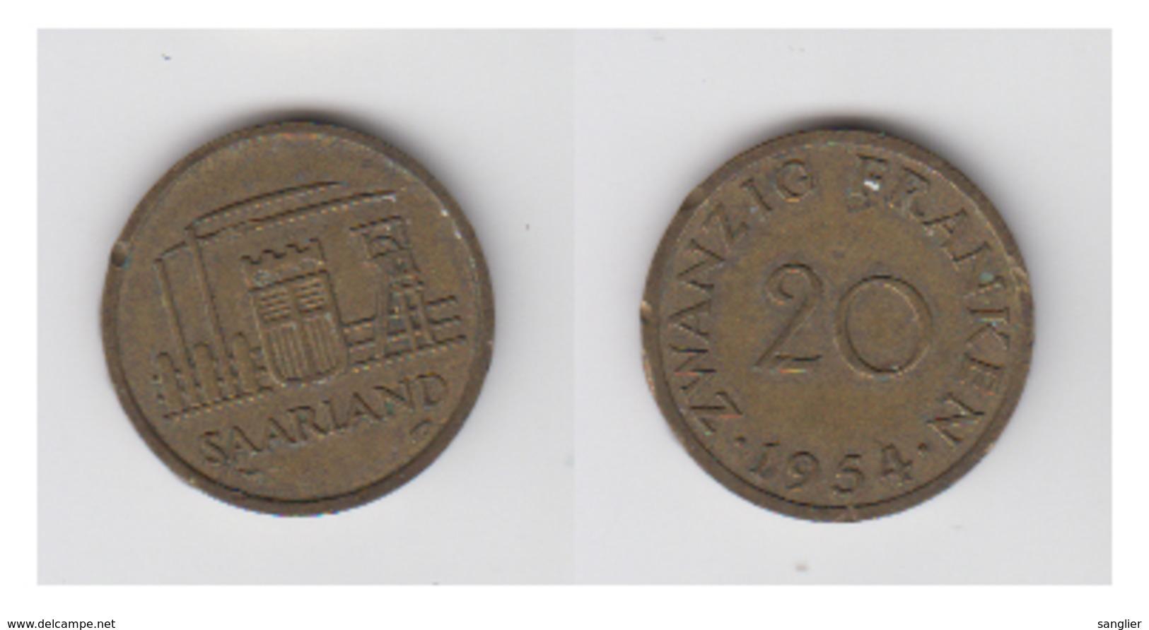 FRANKEN 1954 - Sarre