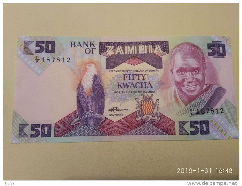 50 Kwacha 1986 - Zambie