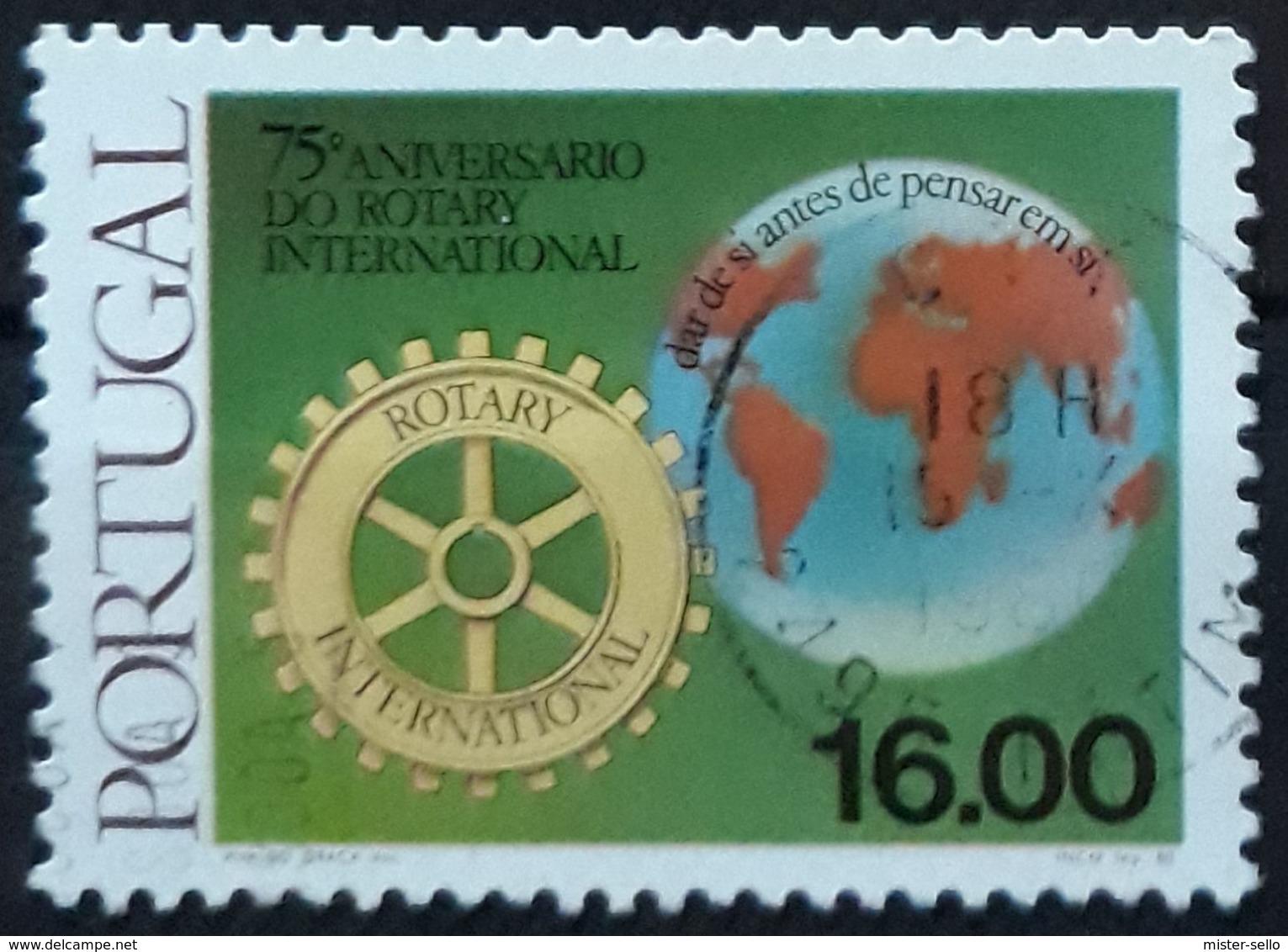 PORTUGAL 1980 The 75th Anniversary Of Rotary International. USADO - USED. - 1910-... République
