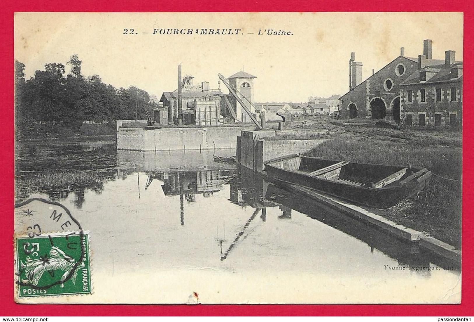 CPA Fourchambault - L'Usine - France