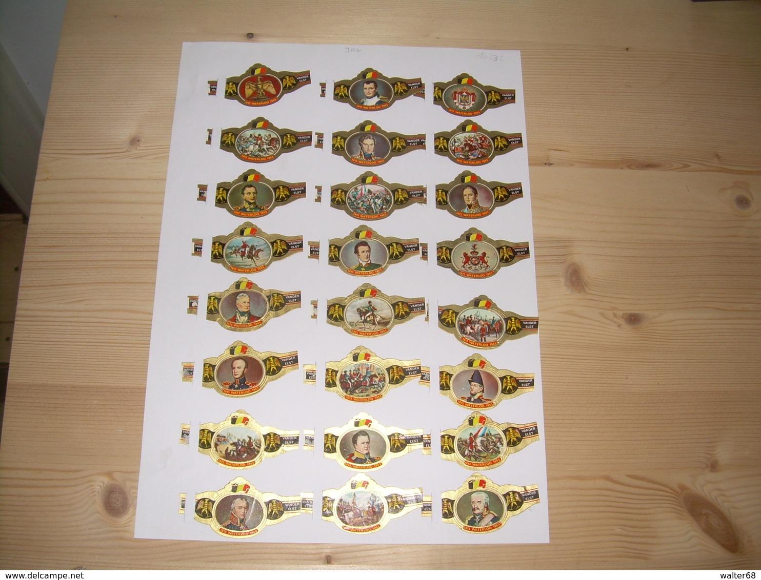 Sigarenbanden Mercator Serie Waterloo 24 St - Bagues De Cigares