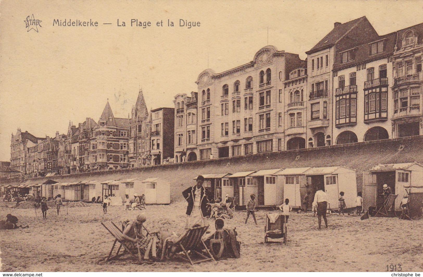 Middelkerke, La Plage Et La Digue (pk42854) - Middelkerke