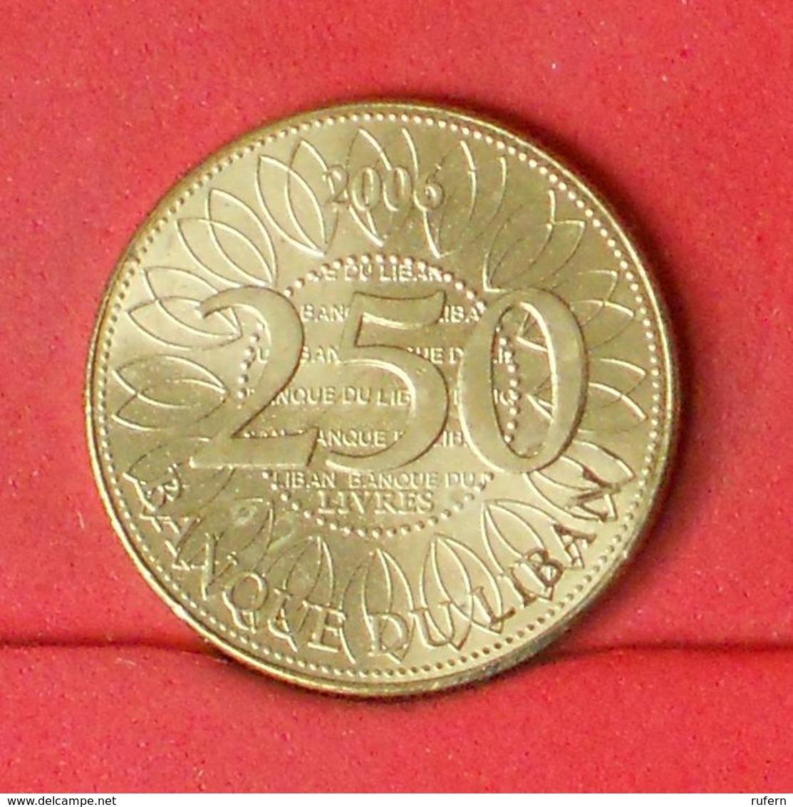 LEBANON 250 LIVRES 2006 -    KM# 36 - (Nº20302) - Liban