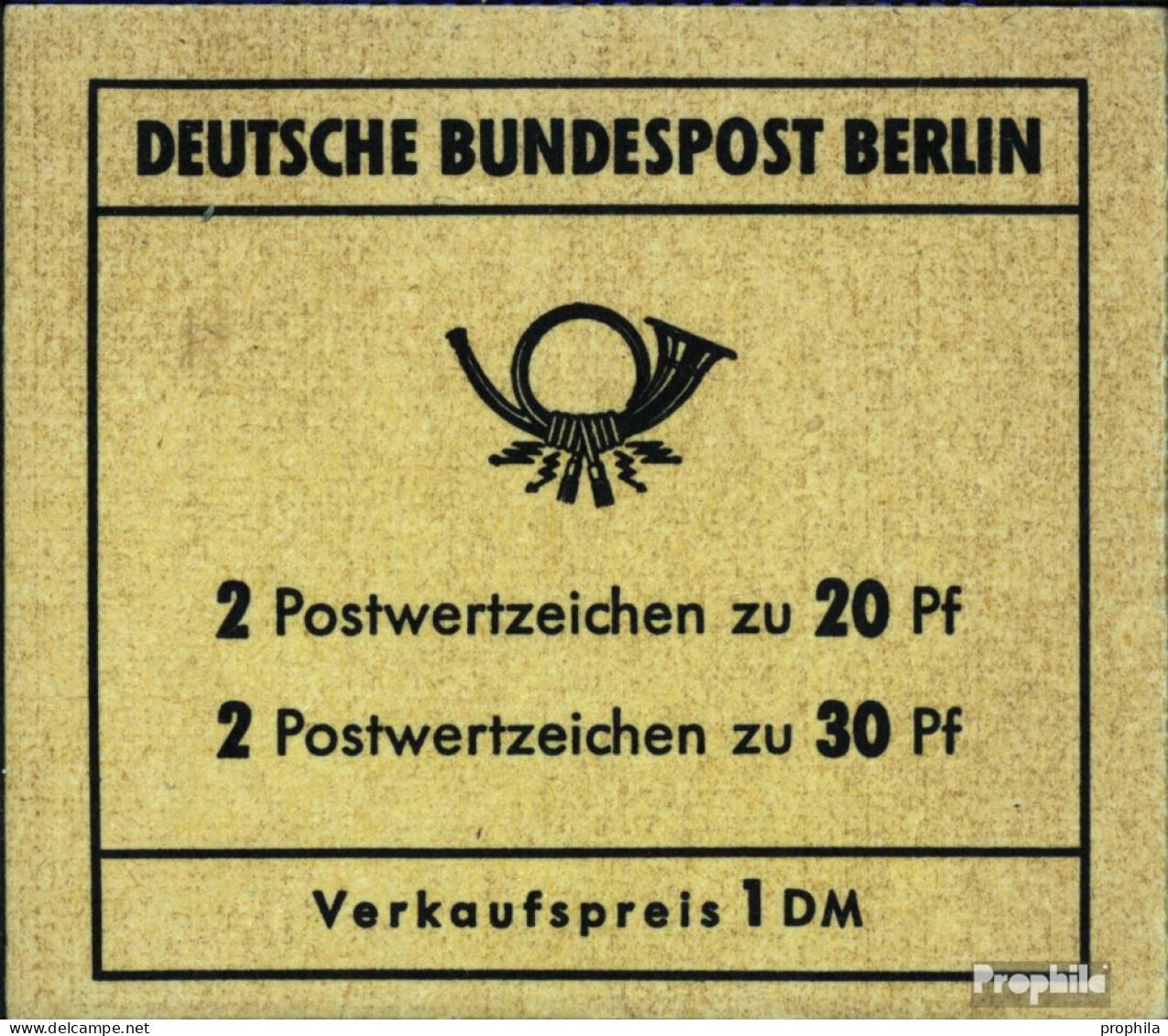 Berlin (West) MH7a (kompl.Ausg.) Postfrisch 1970 Brandenburger Tor - Berlin (West)