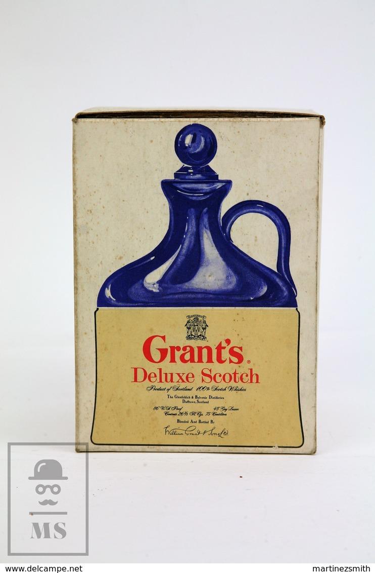 Empty Vintage Grant's Deluxe Scotch Whisky Presentation Box - Otras Colecciones