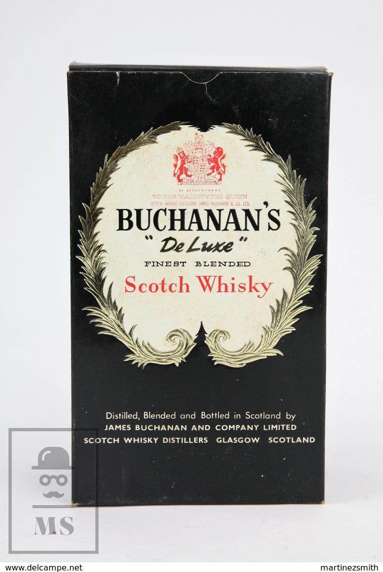 Empty Vintage Buchanan's De Luxe Finest Blended Scotch Whisky Presentation Box - Otras Colecciones