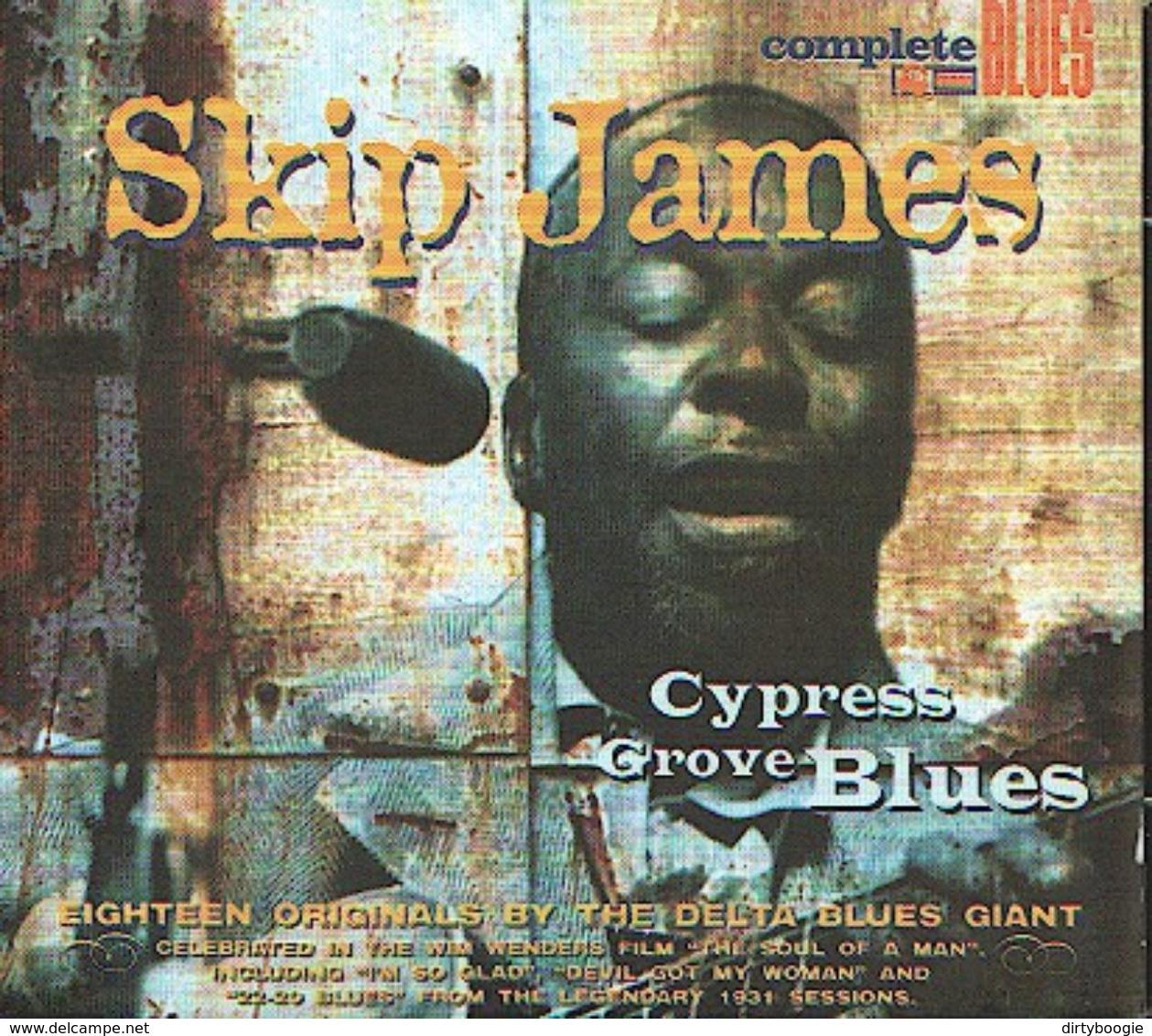 Skip JAMES - Cypress Grove Blues - CD - Blues