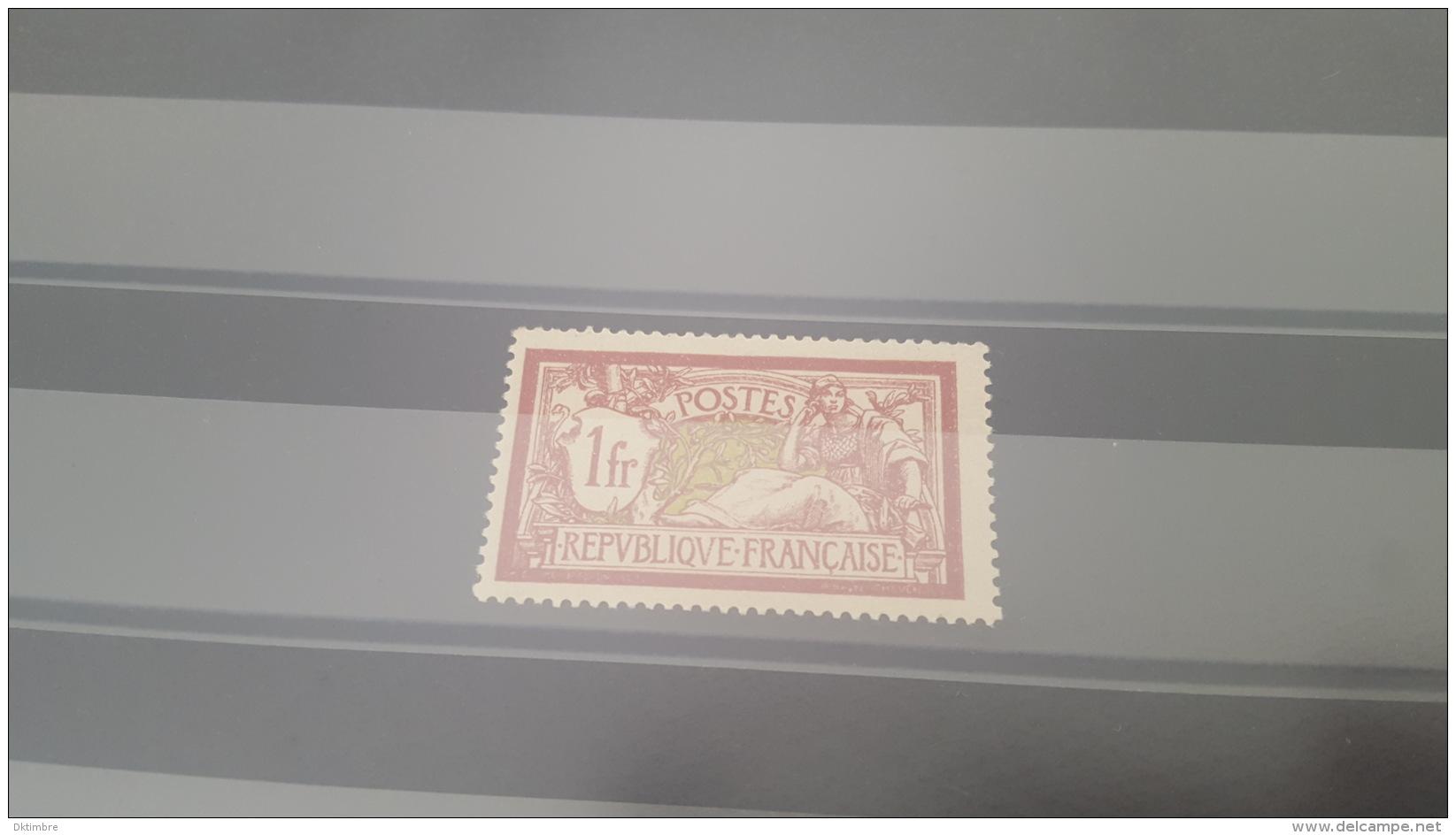 LOT 385487 TIMBRE DE FRANCE NEUF** N°121 VALEUR 110 EUROS - France