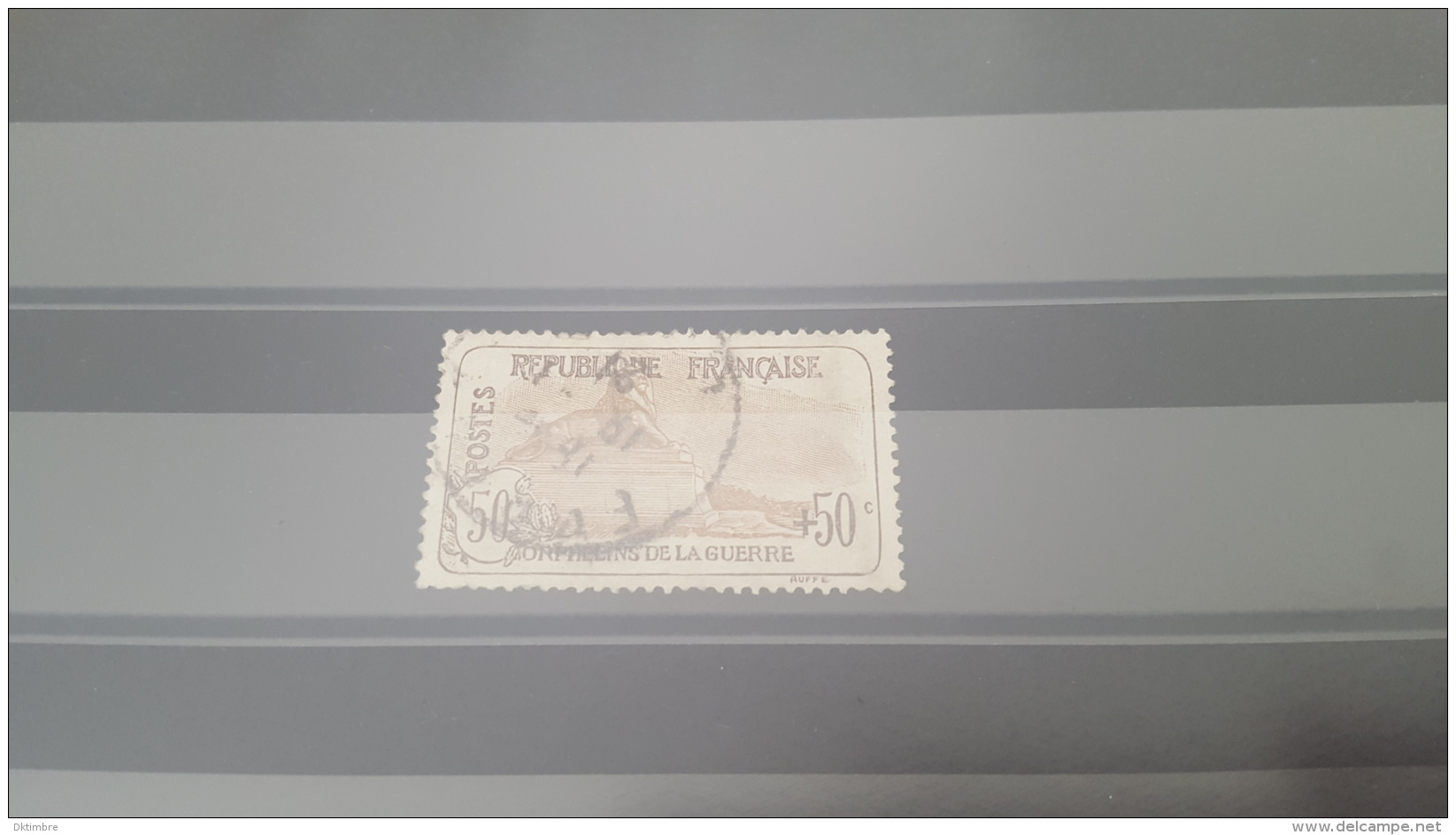 LOT 385488 TIMBRE DE FRANCE OBLITERE N°153 VALEUR 225 EUROS - France