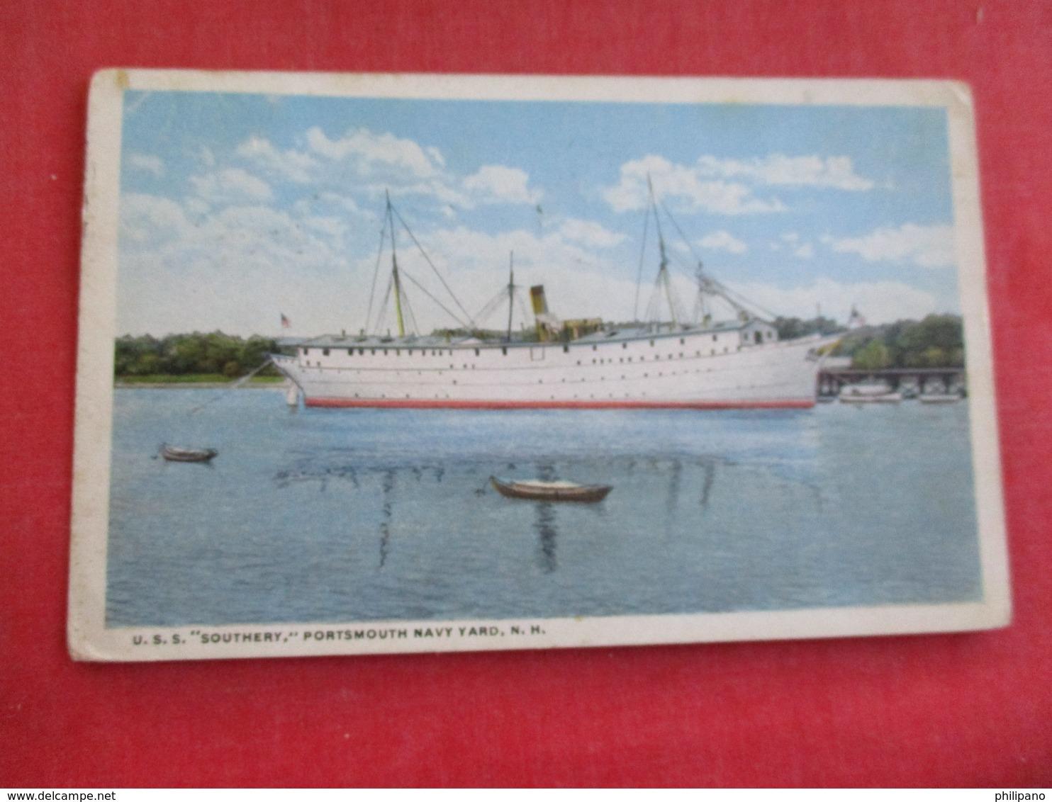 U.S.S. Southery  Portsmouth Navy Yard NH  Ref 2834 - Krieg