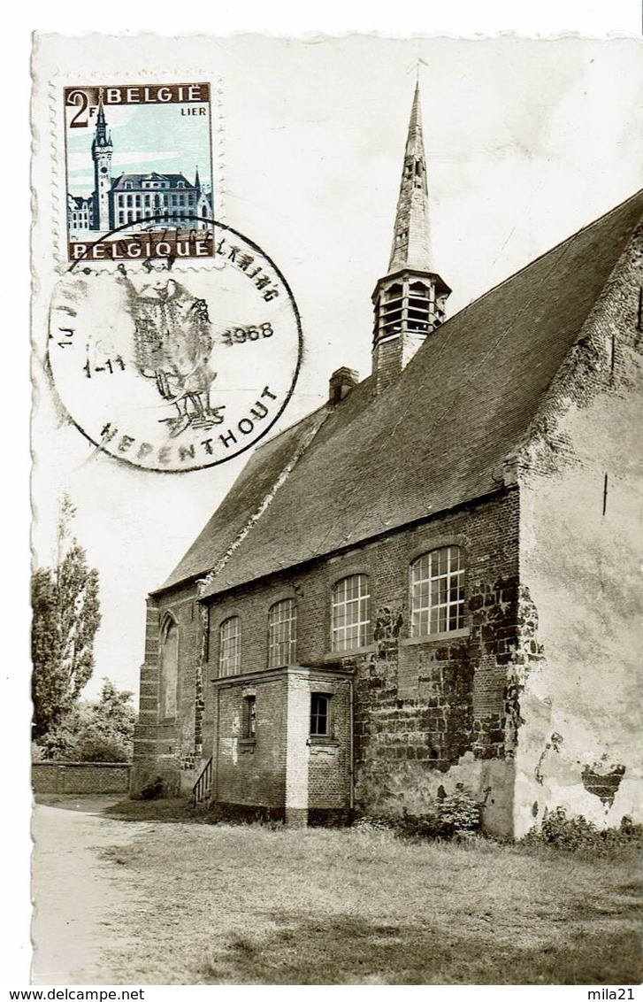 HERENTHOUT  EGLISE  1-11-1968 - Herenthout
