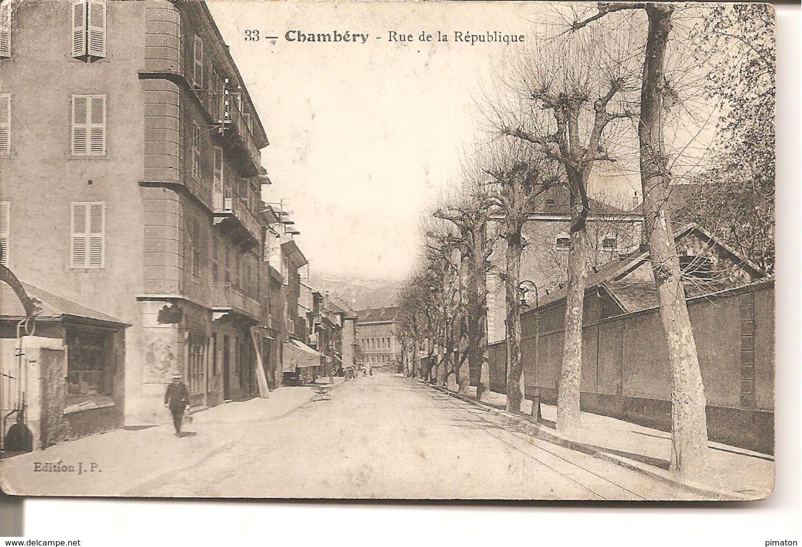 Chambery - Rue De La Republique - Chambery