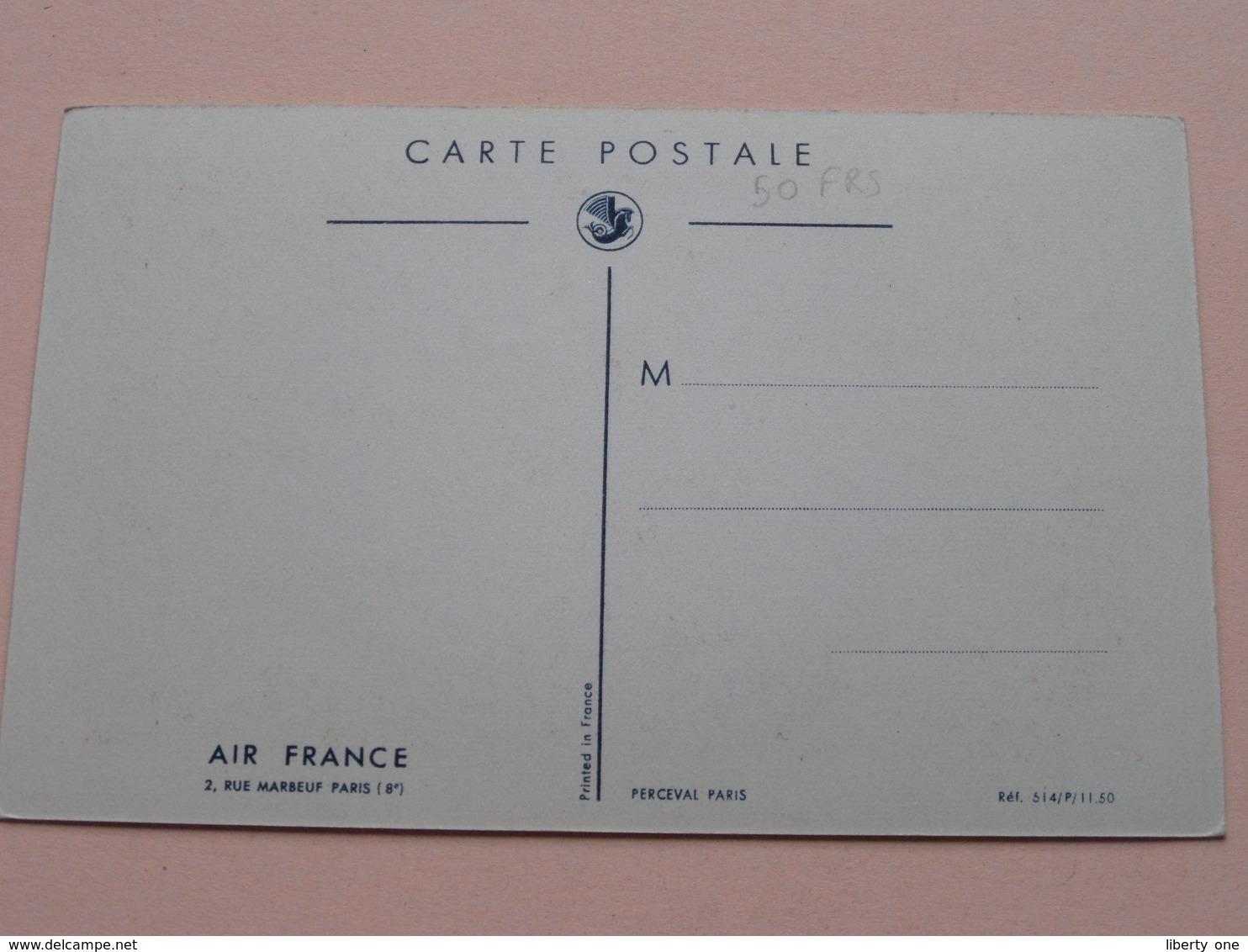 AIR FRANCE ( Perceval ) Anno 19?? ( Zie Foto Details ) !! - France
