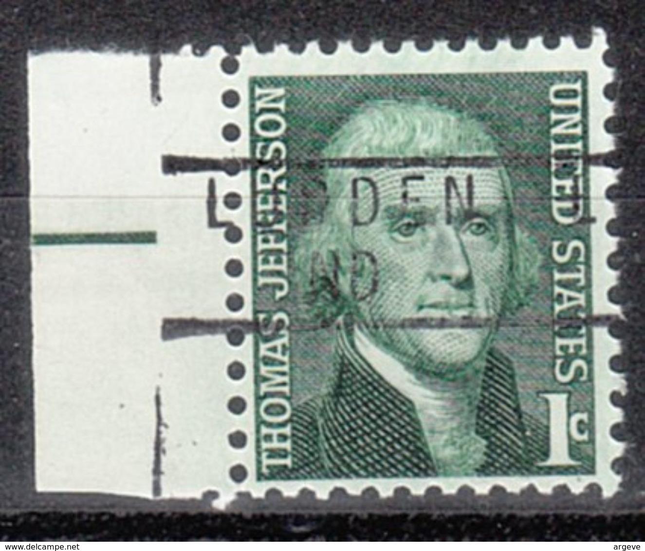 USA Precancel Vorausentwertung Preo, Locals North Dakota, Ludden 837 - Vereinigte Staaten