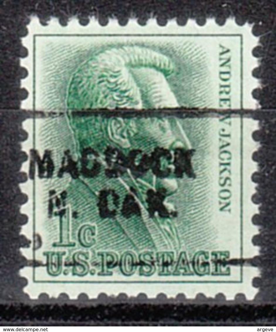USA Precancel Vorausentwertung Preo, Locals North Dakota, Maddock 703 - Vereinigte Staaten