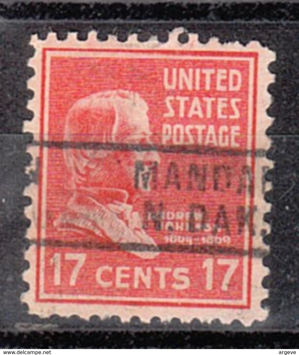 USA Precancel Vorausentwertung Preo, Locals North Dakota, Mandan 729 - Vereinigte Staaten