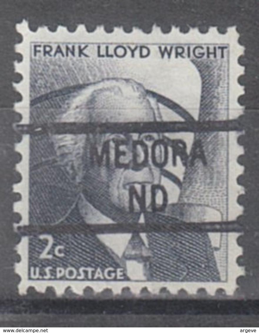 USA Precancel Vorausentwertung Preo, Locals North Dakota, Medora 841 - Vereinigte Staaten