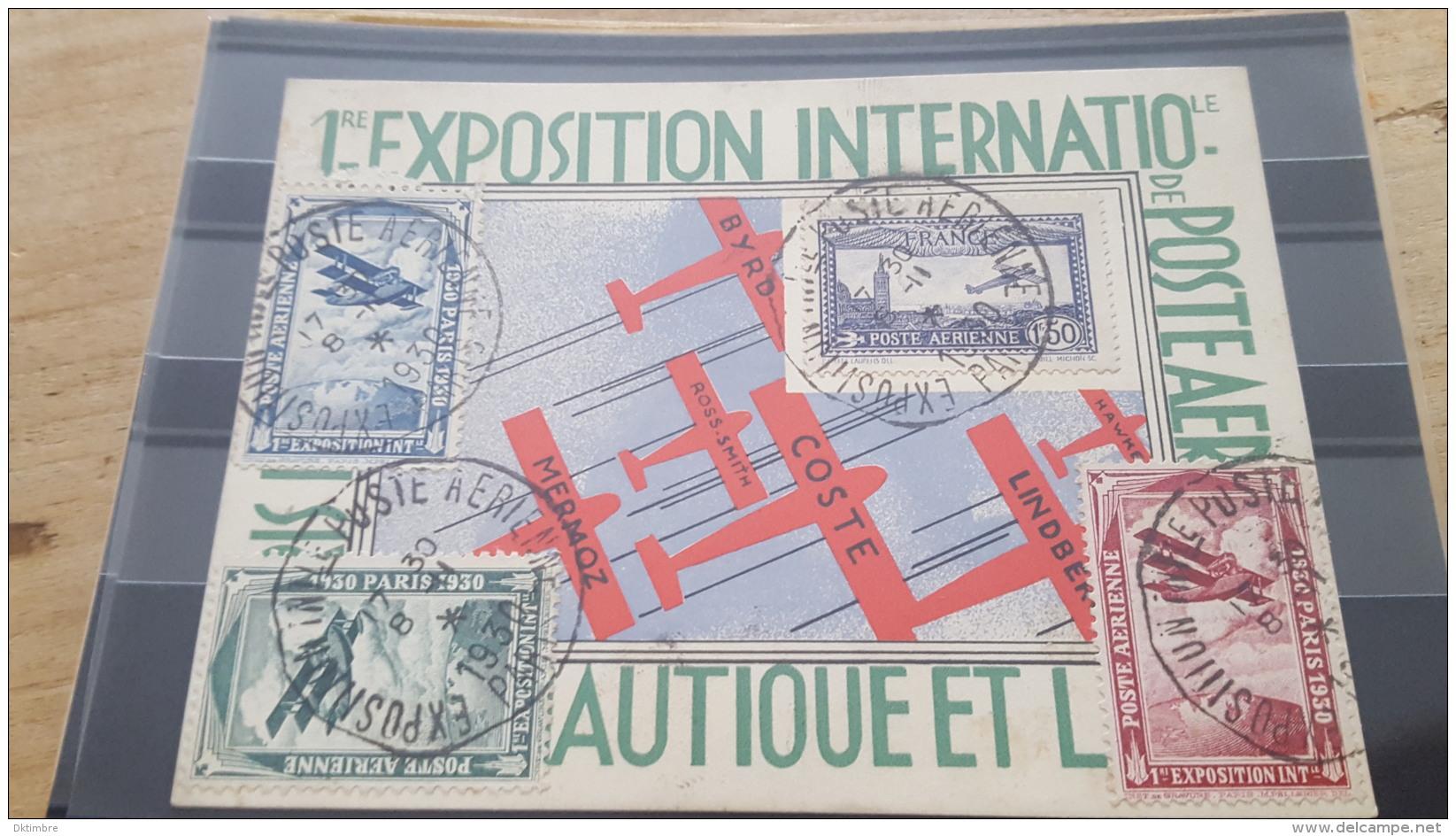 LOT 385573 TIMBRE DE FRANCE PREMIER JOUR - Poste Aérienne