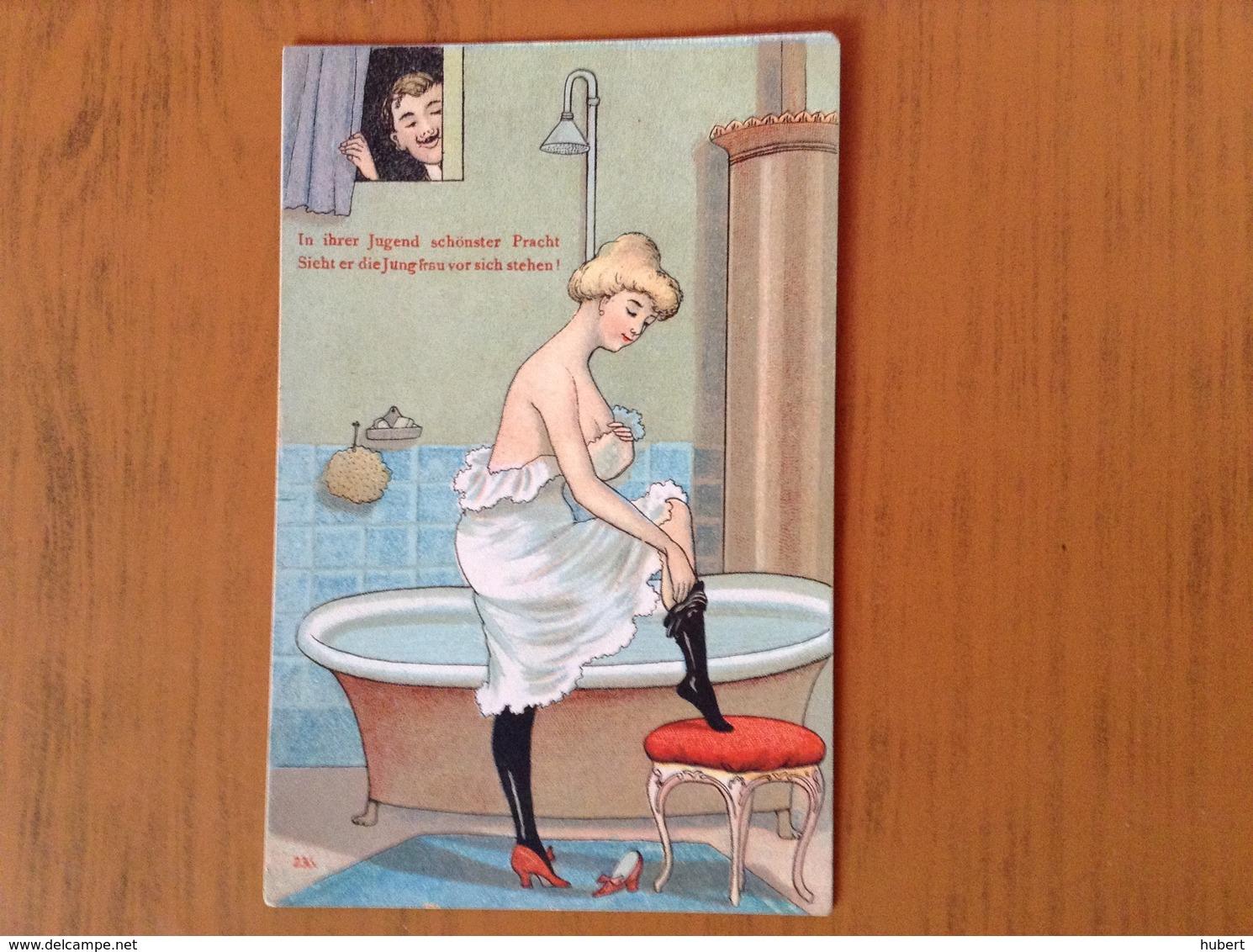 CP Humour érotique.Le Voyeur - Cartes Postales