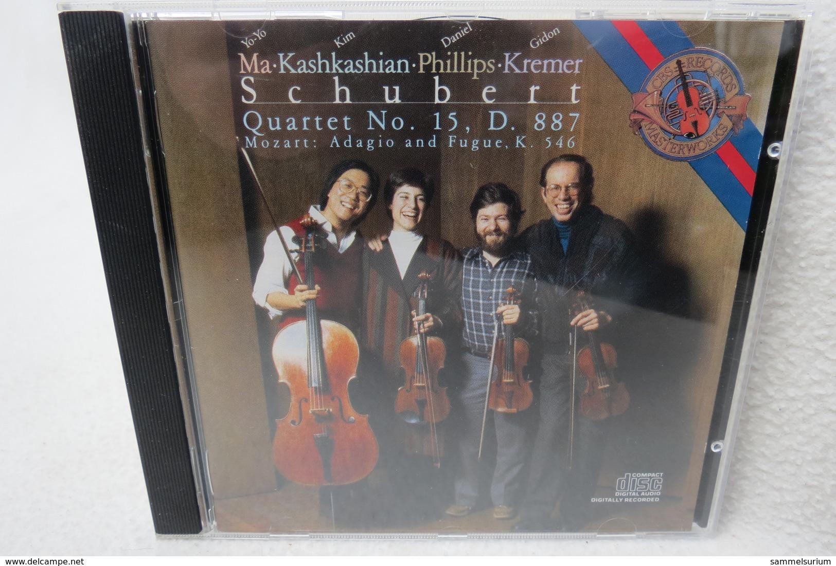 "CD ""Ma-Kashkashian-Phillips-Kremer"" Schubert Quartet No. 15, D. 887, Mozart: Adagio Und Fugue. K. 546 - Klassik"