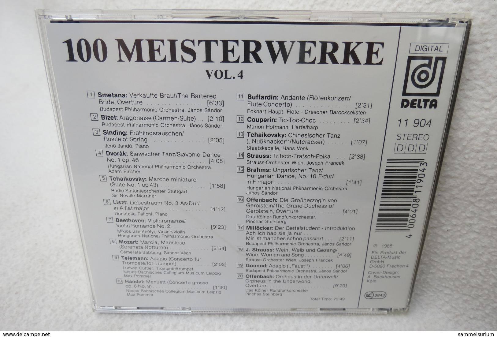 """CD """"100 Meisterwerke Der Klassischen Musik"""" CD 4 - Klassik"""