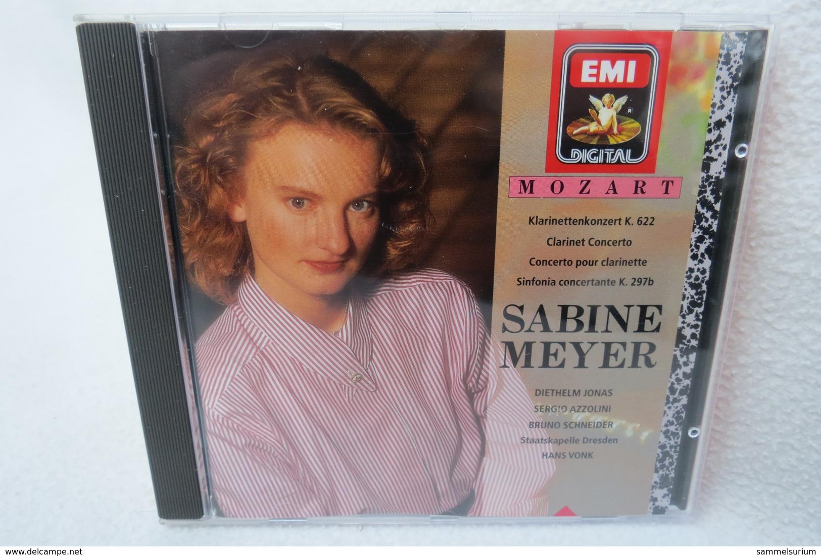 "CD ""Sabine Meyer"" Mozart Klarinettenkonzert K. 622 - Klassik"