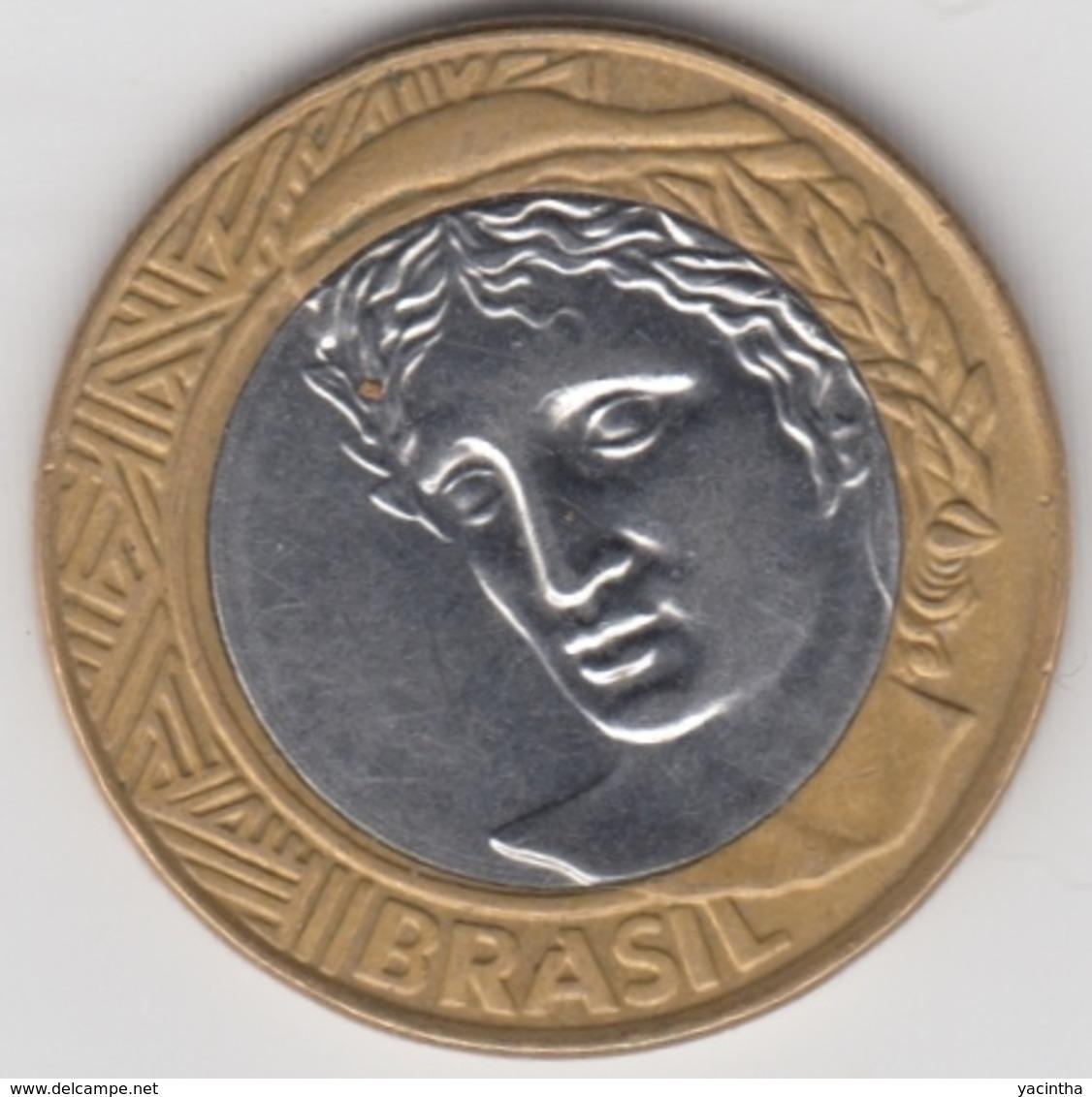 @Y@  Brazilie   1 Real  2007    (2718)  Xf - Brésil