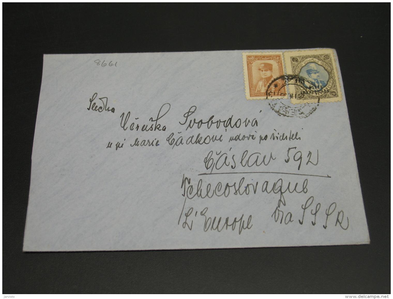 Iran 1936 Cover To Czechoslovakia *8661 - Iran