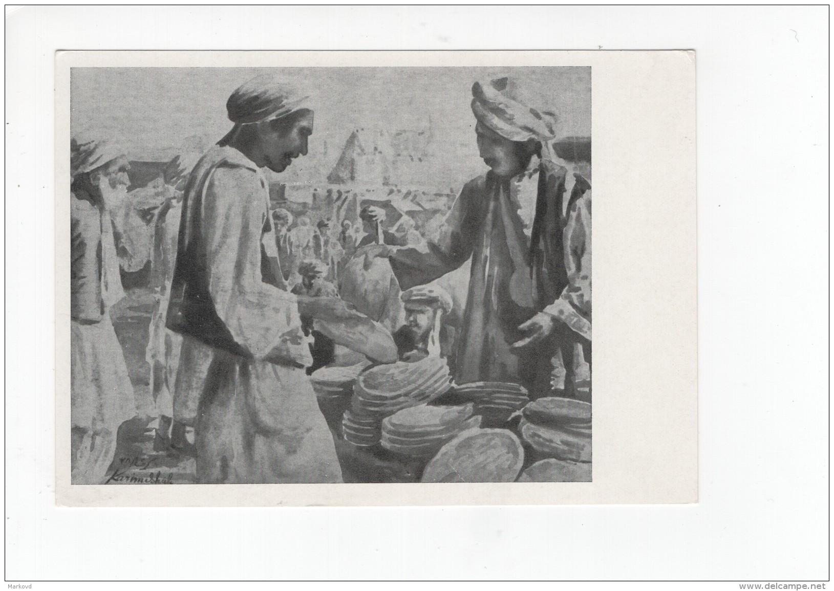 03288 Karim Shah The Seller Of Bread Afghanistan - Afghanistan