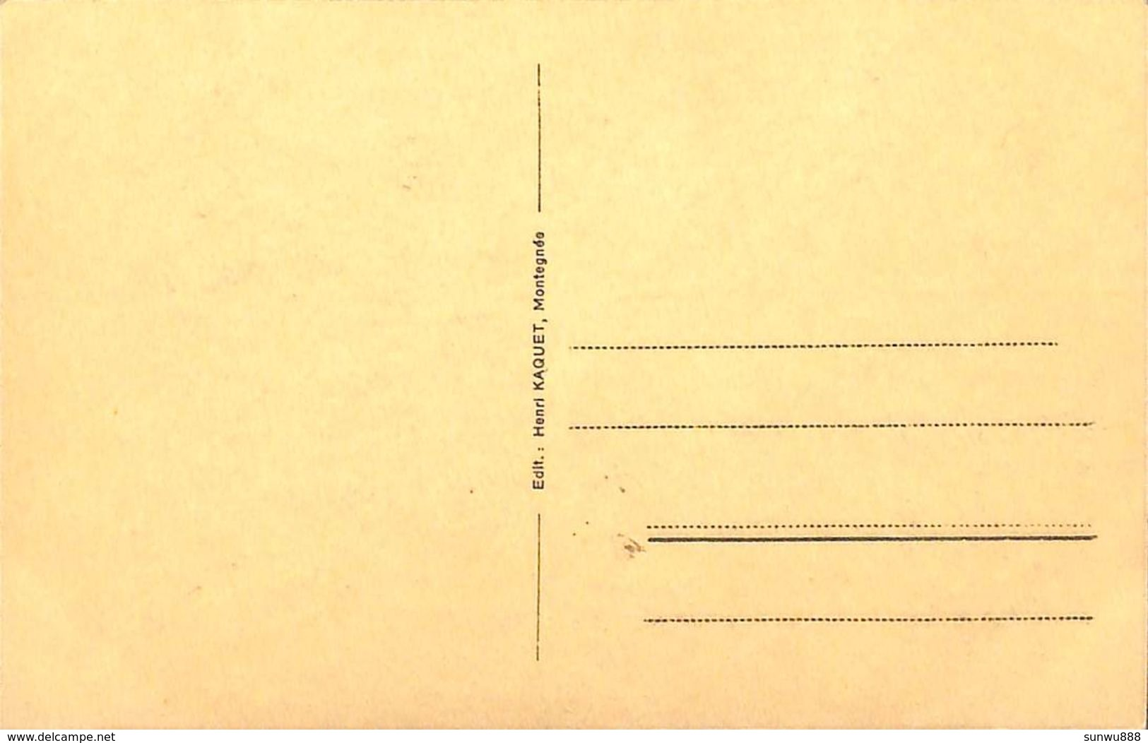 Mons Crotteux - L'Eglise (Edit. Henri Kaquet) - Flémalle