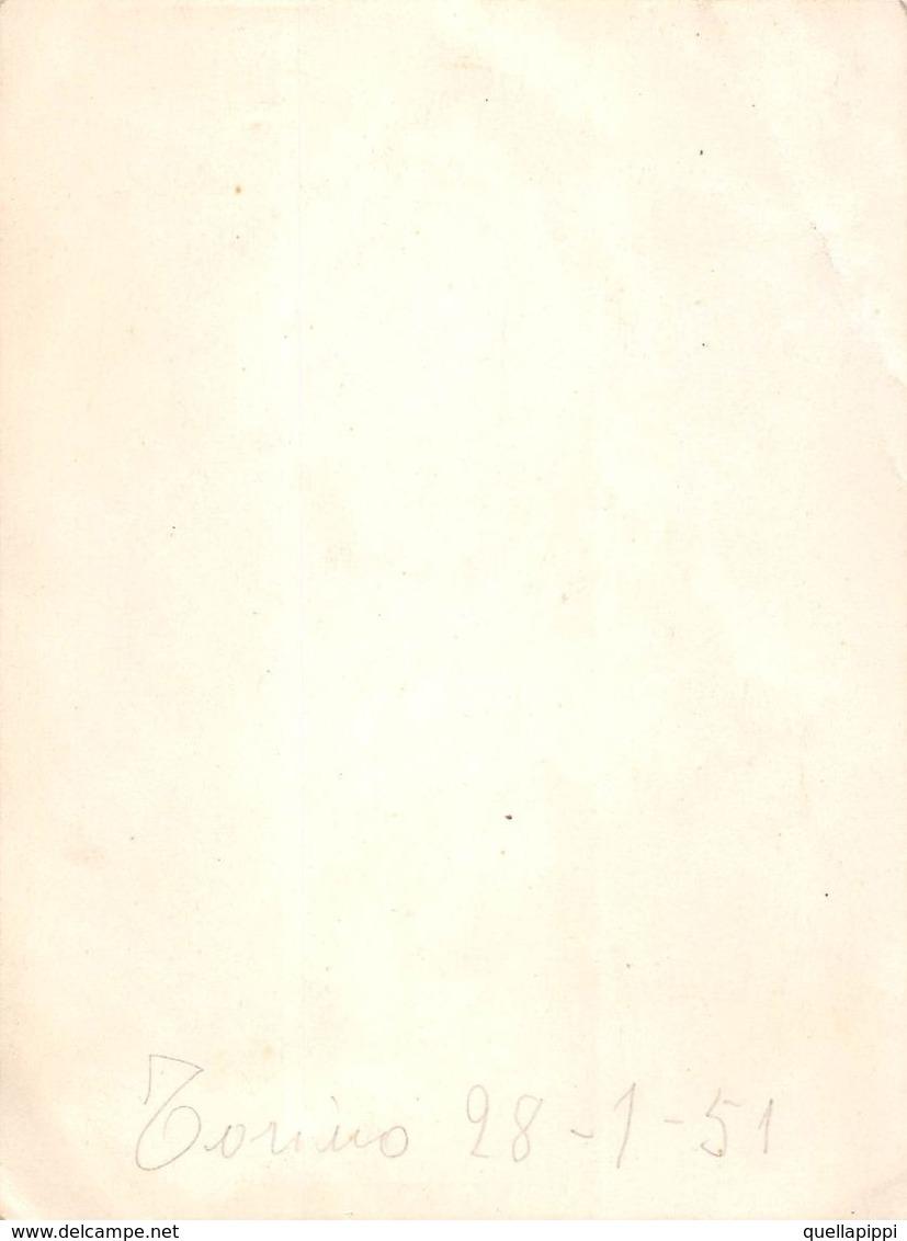 """07370  """"SILHOUETTE - FIGURA MASCHILE""""  TORINO 28-01-1951. ORIGINALE - Silhouettes"""