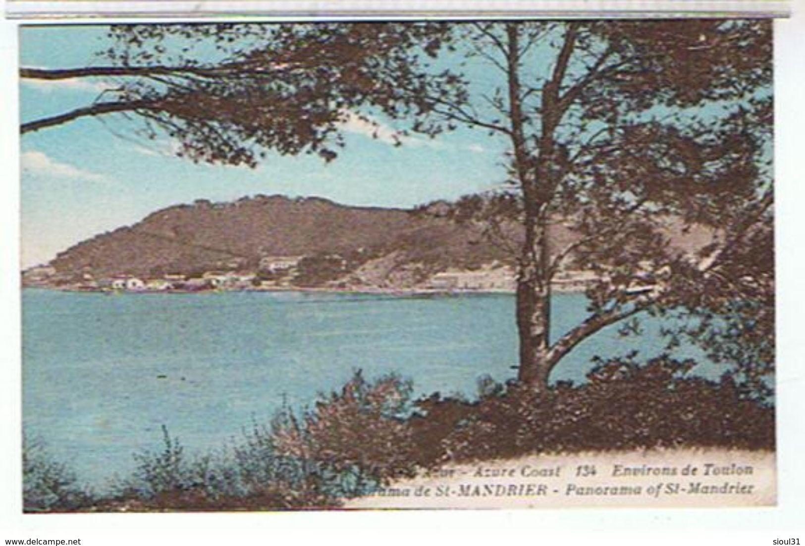 83..ENVIRONS  DE  TOULON     PANORAMA  DE SAINT   MANDRIER     TBE - Autres Communes
