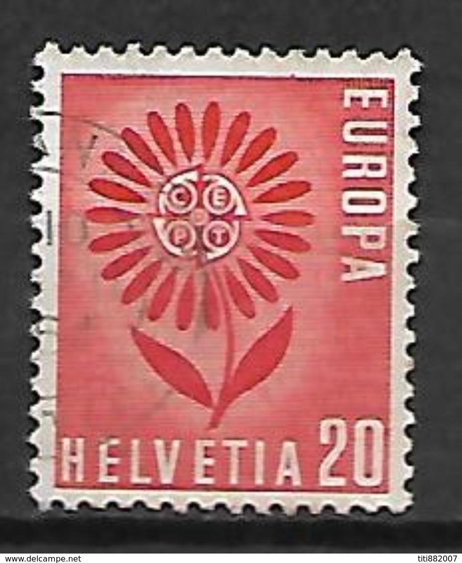 SUISSE    -   1964.    Y&T N° 735 Oblitéré.   EUROPA - Switzerland