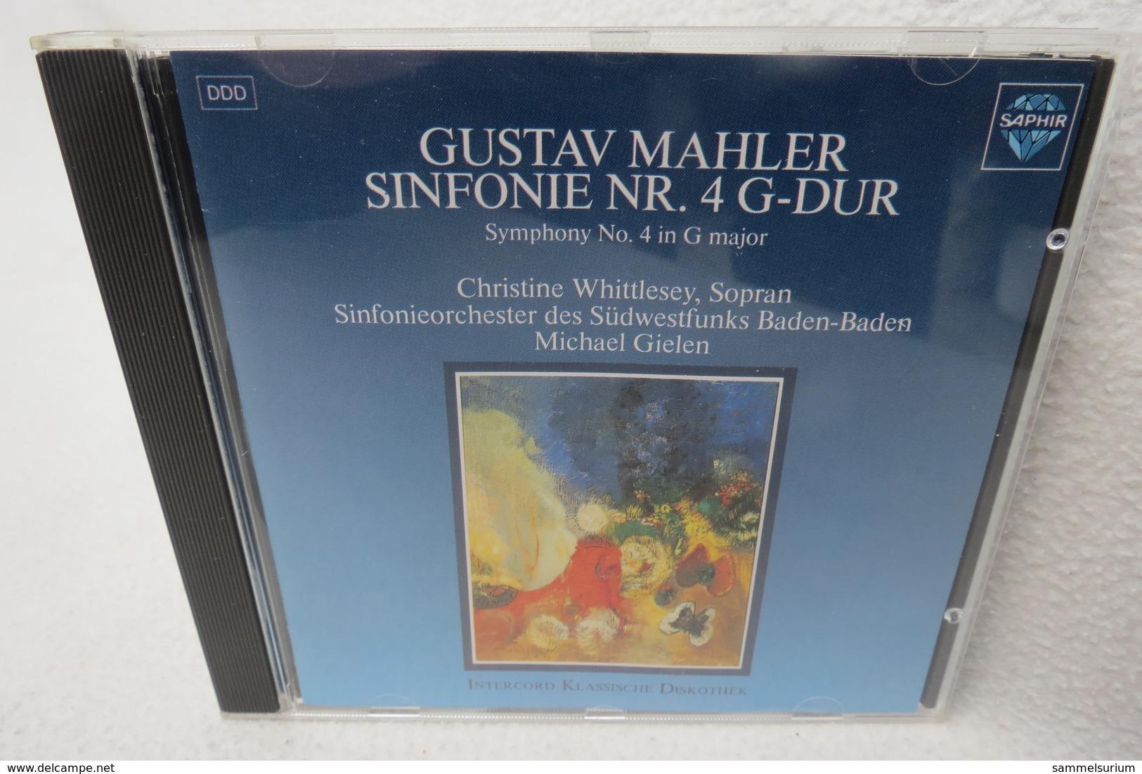 """CD """"Gustav Mahler"""" Sinfonie Nr. 4 G-Dur - Klassik"""