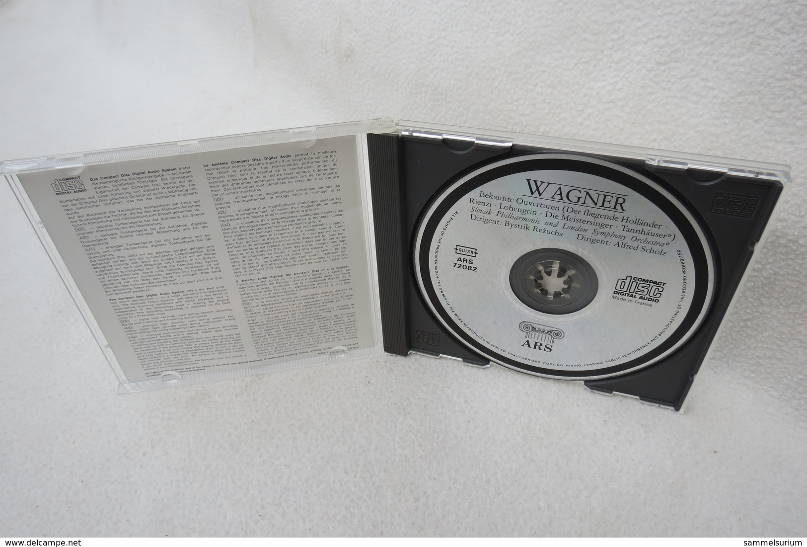 "CD ""Richard Wagner"" Bekannte Ouverturen - Klassik"