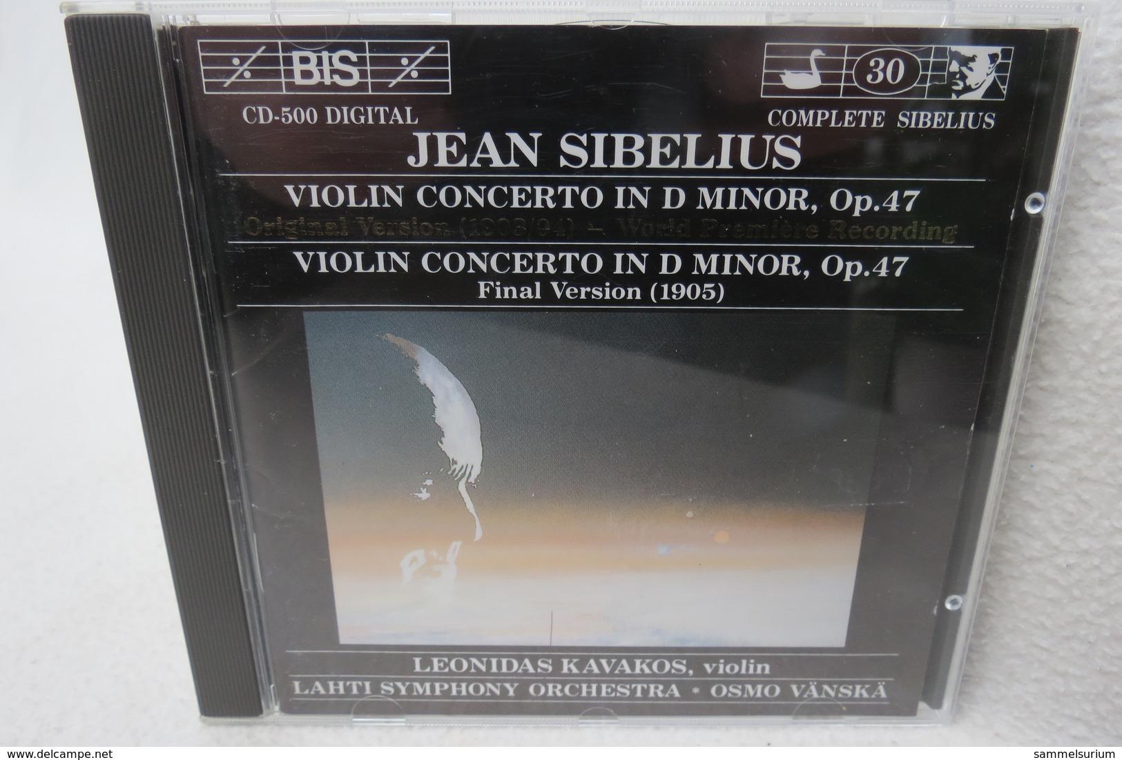"CD ""Jean Sibelius"" Violin Concerto In D Minor, Op. 47, Leonidas Kavakos - Klassik"