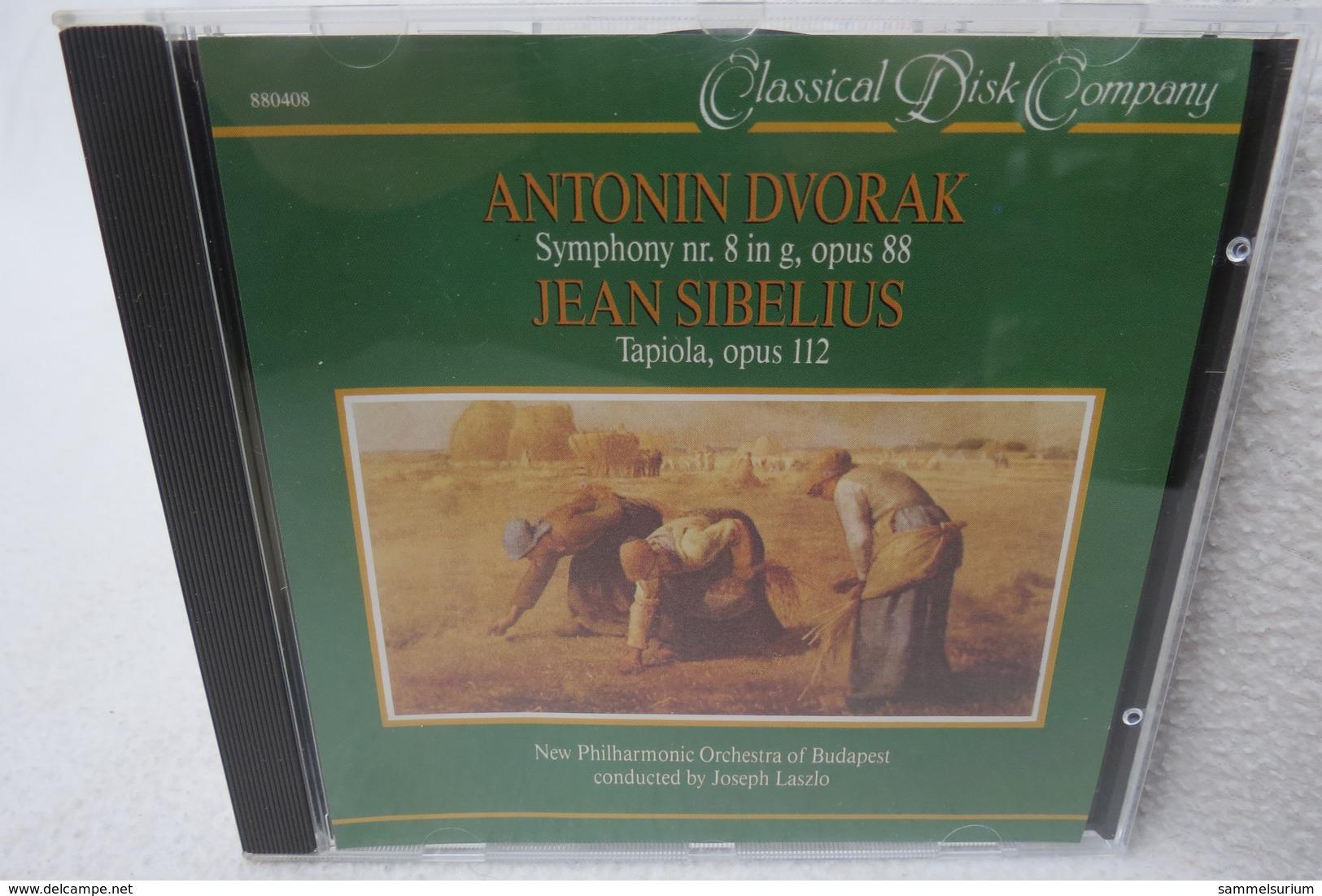 """CD """"Anton Dvorak/Jean Sibelius"""" Symphony Nr. 8 In G, Opus 88, Tapiola Opus 112 - Klassik"""