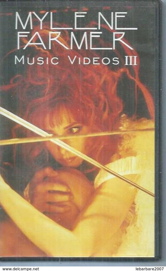 "K7 VIDEO  -  MYLENE FARMER   "" MUSIC VIDEOS III "" - Concert Et Musique"