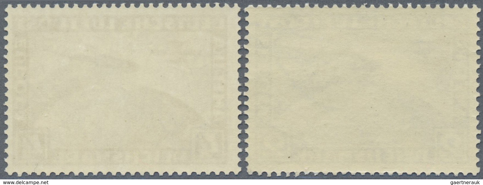 ** Deutsches Reich - 3. Reich: 1930, Flugpostmarken: 1. Südamerikafahrt Des LZ Zeppelin, Zwei Werte 2 M - Unused Stamps