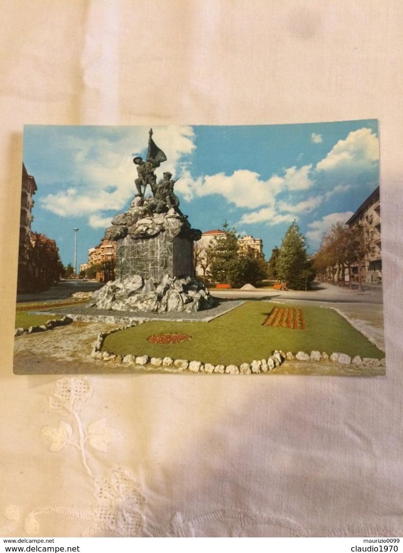 CARTOLINA - POSTCARD - CUNEO -  Monumento All'Alpino - Cuneo