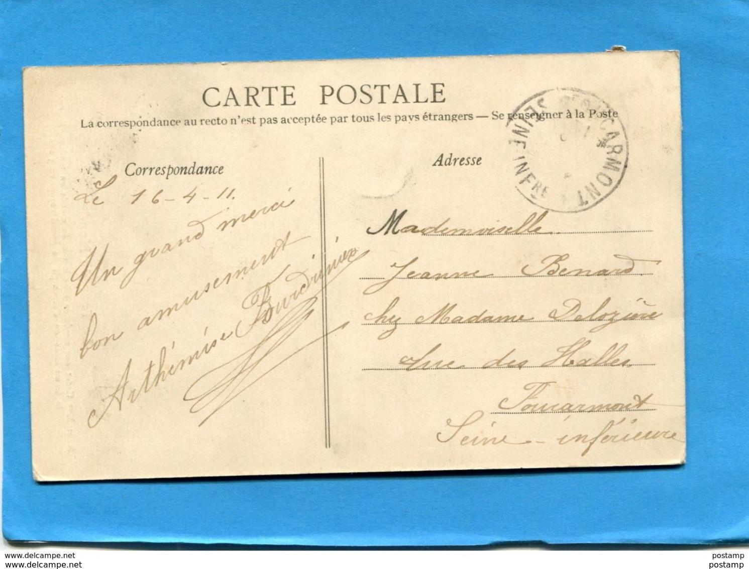 Le Tour Du Monde En Tandem-vélo--Mr Et Mme Cadet - Beau Plan Animé -a Voyagé En 1911 - Cycling