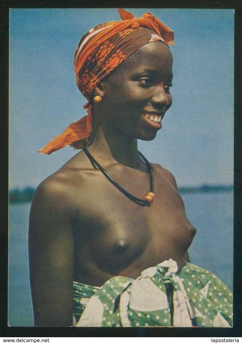 Senegal. *Un Gracieux Sourire* Col. Afrique En Couleurs Nº 3020. Nueva. - Senegal