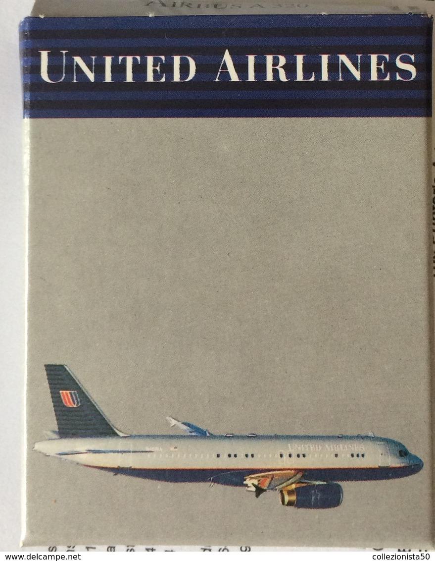 SCABAK 1:600 AIRBUS 320 UNITED AIRLINES - Altre Collezioni