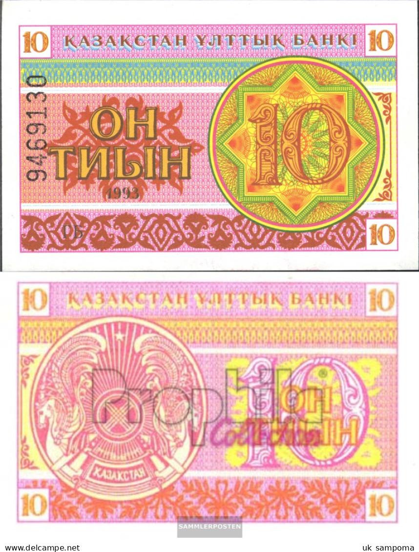 Kazakhstan Pick-number: 4b Uncirculated 1993 10 Tyin - Kazakhstan