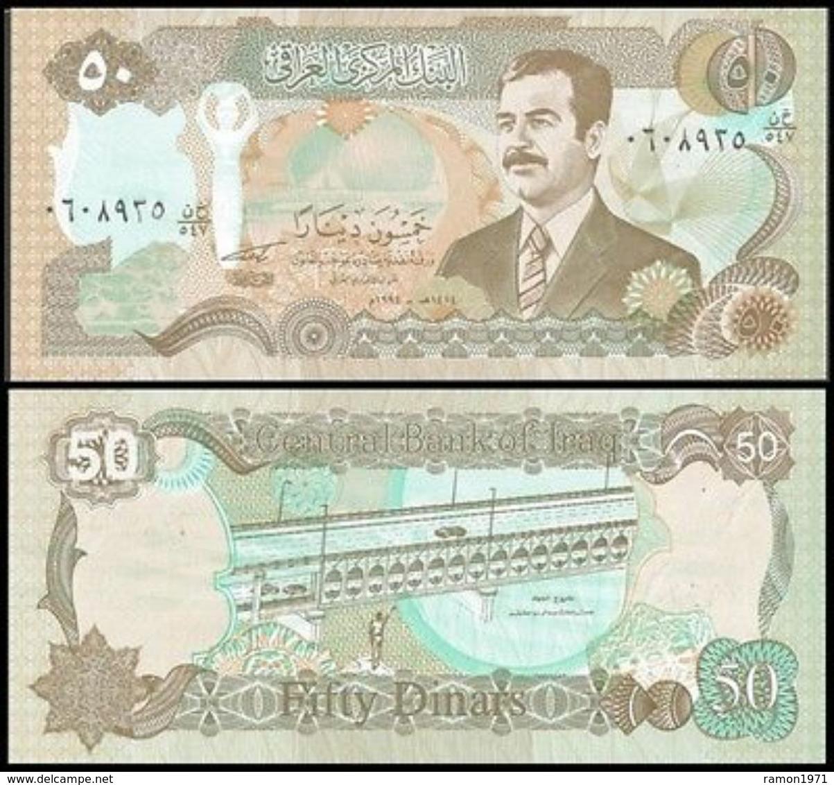 Iraq - 50 Dinar 1994 UNC - Iraq